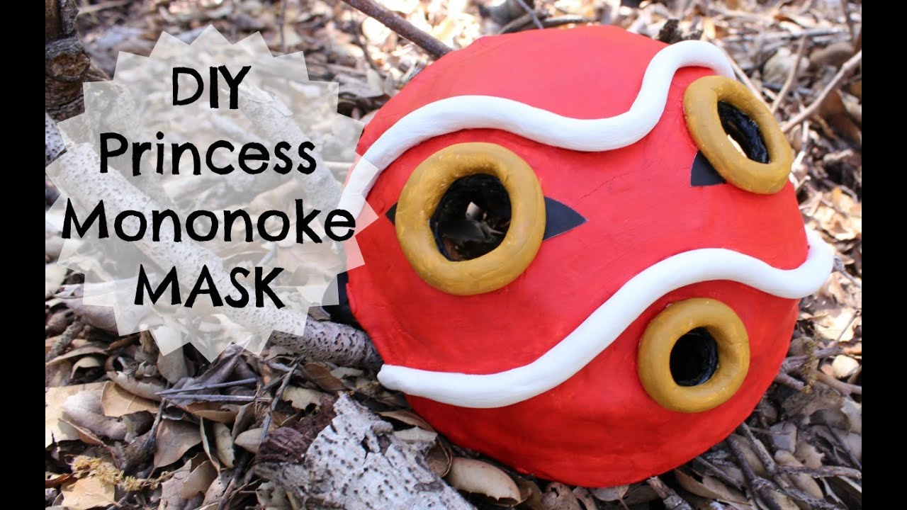 Pictures Of How To Make Princess Mononoke Mask Rock Cafe