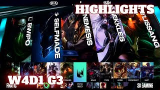 (Highlights) Fnatic vs SK Gaming | Week 4 Day 1 S10 LEC Summer 2020 | FNC vs SK W4D1