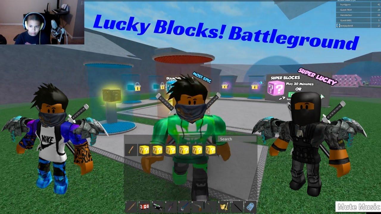 lucky block battlegrounds script