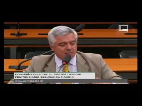 PL 7223/06 - REGIME PENITENCIÁRIO SEGURANÇA MAXIMA - Audiência Pública - 25/04/2017 - 11:22