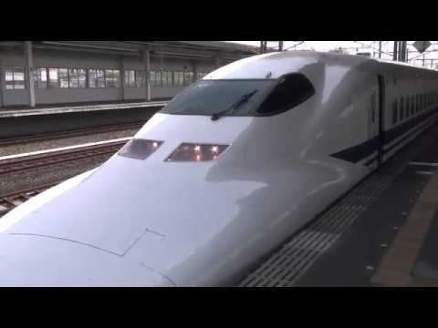 Japanese bullet train is controled by safety system after ...