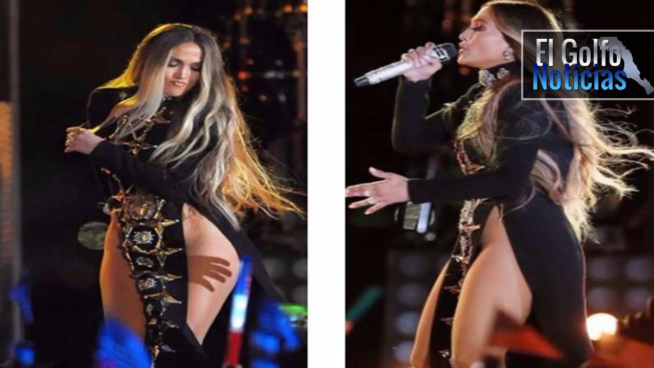 Jennifer lopez canta sin ropa interior en nueva york for En la calle sin ropa interior