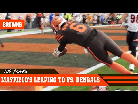 baker-mayfield's-leaping-td-against-cincinnati-|-cleveland-browns