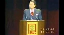 Ron Reagan on Gun Control - Feb 6, 1989