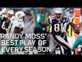 Randy Moss& 39; Best Play Of Every Season Nfl Highlights