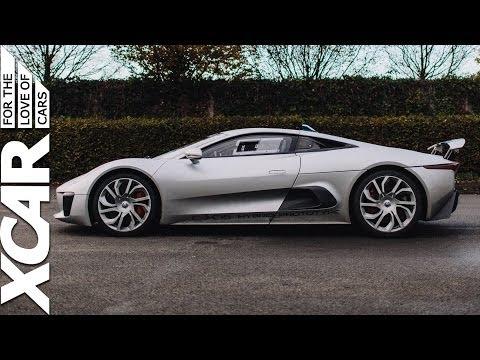 Jaguar C-X75: We Drive Jaguar's Prototype Hybrid Hypercar - XCAR