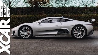 Jaguar C-X75 Hybrid Supercar 2014 Videos