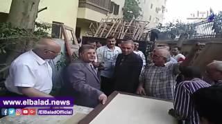رئيس جامعة بنها يتابع أعمال الصيانة بالمدينة الجامعية