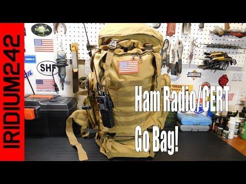 HAM Radio/CERT Go Bag: Grab And Go Gear!