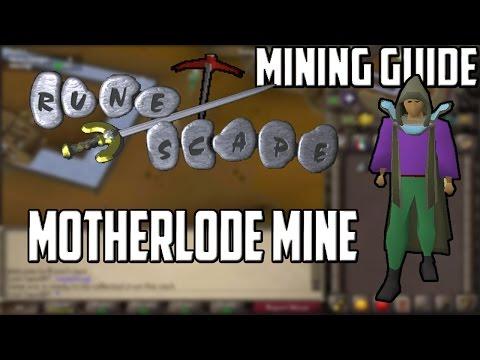 [2007] RuneScape Mining Guide: Motherlode Mine