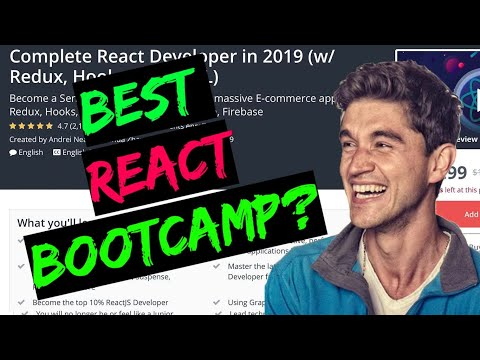 Complete React Developer in 2019 by Andrei Neagoie || Udemy course review thumbnail