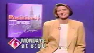 WDSU-TV6 It's Positively New Orleans! Susan Roesgen Promo