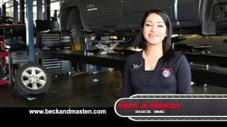 Beck & Masten Buick Service Department