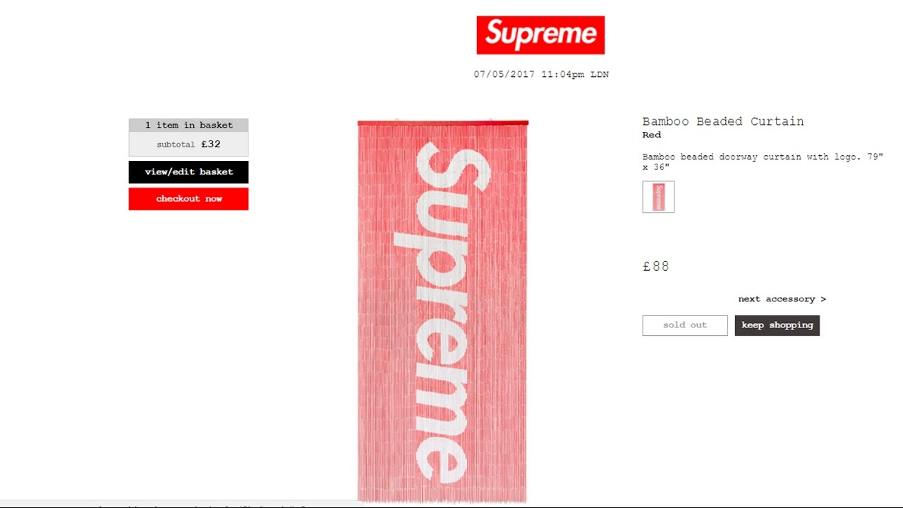 BUYING SUPREME MANUALLY! Live Proof! - YouTube