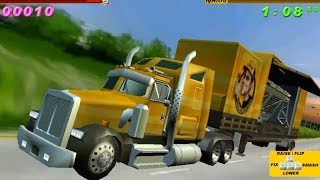 Juego de Autos 51 : Truck vs Police Car- RedLine Rumble 3 (Part-1)