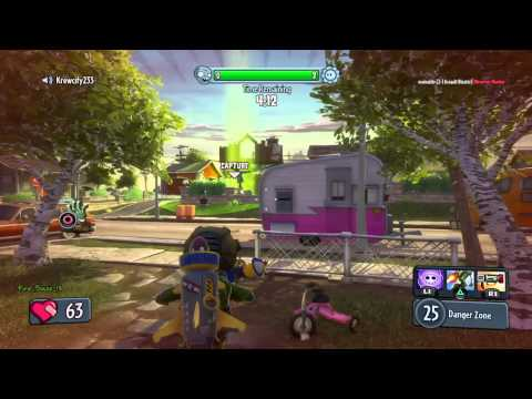 Plants vs Zombies garden warfare 360 switch 1080 Zpg trickshot