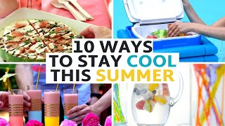 10 DIYs to Stay Cool This Summer