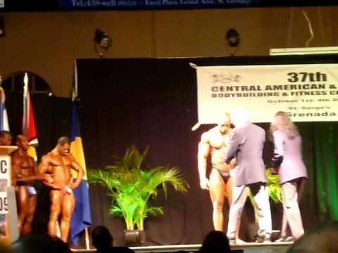 Juan Carlos Vega campeon  CAC 2009 Grenada