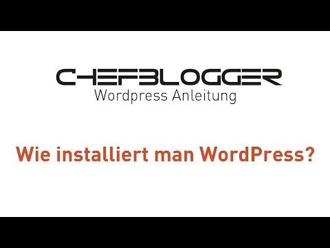 WordPress installieren? Ganz einfach – Deutsch / German – Tutorial