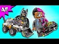 Lego Batman Movie TWO-FACE Double Demolition 70915 Speed Build