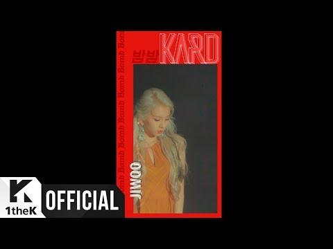 [Teaser] KARD(카드) _ 밤밤(Bomb Bomb) #Jiwoo