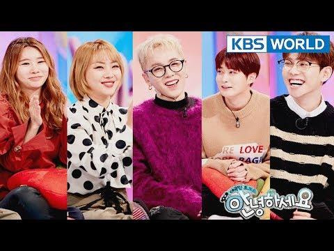 Guests : Narsha, Jea, Block B's Park Kyung,Taeil,Jaehyo[Hello Counselor/SUB : ENG,THA / 2018.02.05]