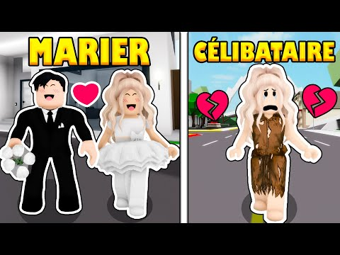 DE MARIER À CÉLIBATAIRE SUR BROOKHAVEN ! | ROBLOX BROOKHAVEN RP