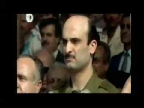 Lebanese forces fighting: matghayar + Samir Geagea speech