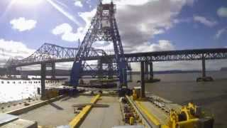 New Ny Bridge – Super Crane's First Lift