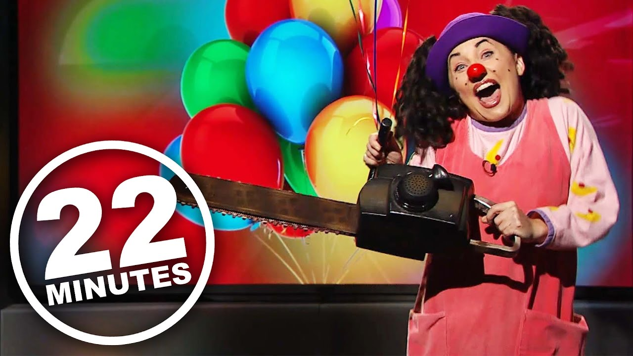 Big Couch Clown Loonette On Creepy Clowns 22 Minutes