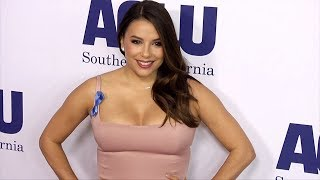 Eva Longoria 2018 ACLU Bill of Rights Dinner Red Carpet