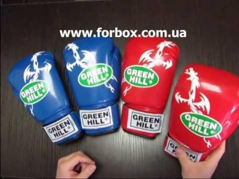 Боксерские перчатки Dragon торговой марки Green Hill