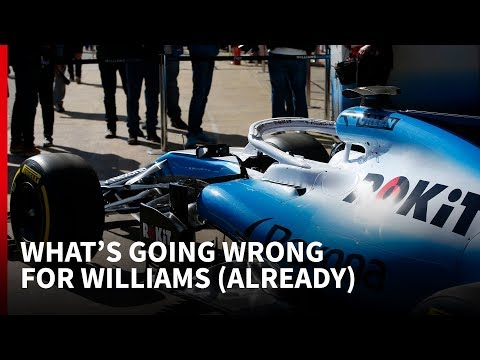 F1 testing 2019: What's going wrong for troubled Williams