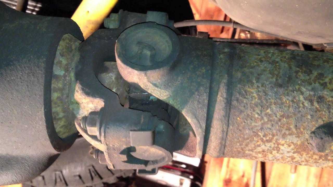 Significantly Worn Out Driveshaft U Joint On A Ford E350 Stroke