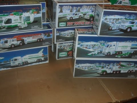 Hess Toy Truck Collection From 1995 To 2017