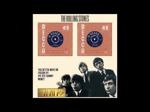 "The Rolling Stones - ""Come On"" (1st Single, 2nd Single & EP - track 01)"