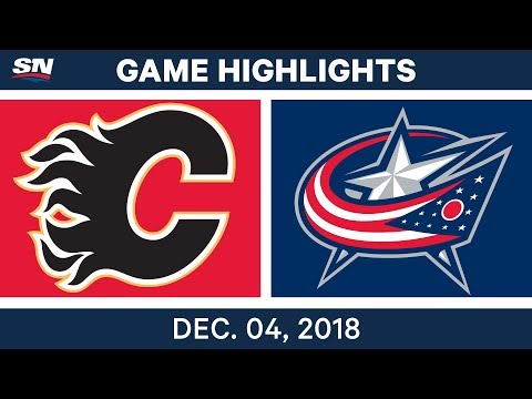 NHL Highlights | Flames vs. Blue Jackets - Dec 4, 2018