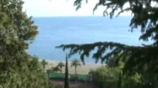 Пансионат Колхида Абхазия Гагра(Пансионат Колхида расположен в Старой Гагре, 9ти этажное здание стоит на возвышенности над побережьем,..., 2010-11-26T21:50:31.000Z)