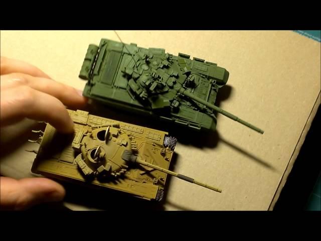 Обзор сборной модели Т-90 Звезда 1:72