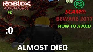 Roblox Adventure #2: ROBUX SCAM? Mini Jeux épiques