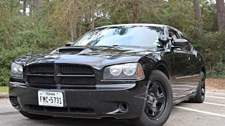 Modified 2010 Police Package 5.7L Dodge Charger Review & Drive