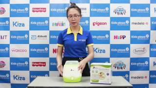 Máy hâm sữa và tiệt trùng 2 bình sữa Kiza KZ8633