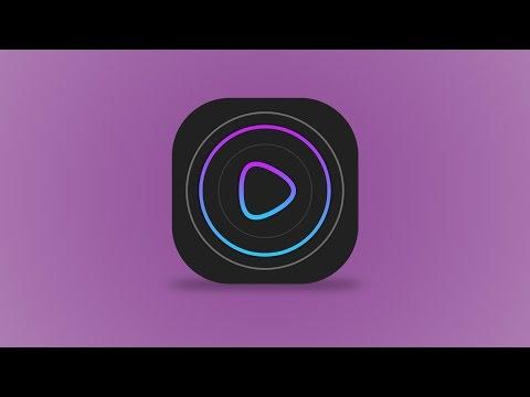 Design a Music/Video Player App Icon - Photoshop CC 2017 - Tutorial