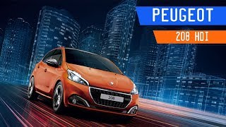Peugeot 208 HDi Quick Review 2018 | Manejando