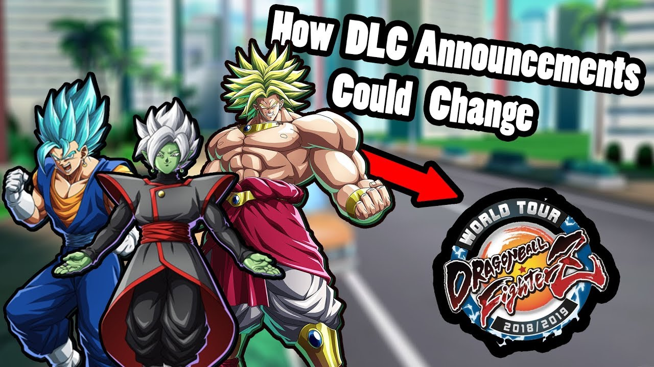 How The DBFZ World Tour Could Change The Way DLC Is Revealed