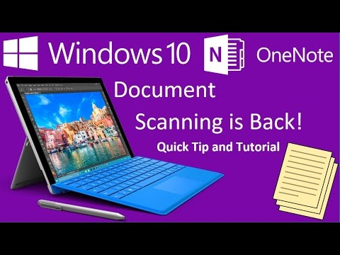onenote-document-scanning-is-back-in-windows-10!-microsoft-surface-quick-tip