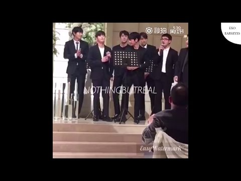 EXO - 좋아좋아 (I Like You) at Lee Seunghwan Manager's Wedding [KR/EN/TH CC]