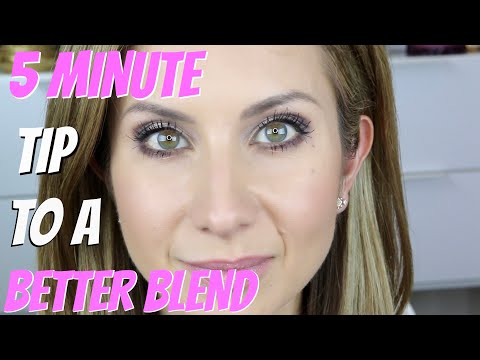 5 MINUTE Tip for a Better Blend of Eyeshadow