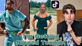 I'm Getting Ripped Tonİght R.I.P That p🐱 Ayeee | TikTok Trend