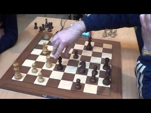 GM Bortnyk Olexandr - GM Ivanchuk Vassily , Sicilian defence 2.c3, Rapid chess, PART 2